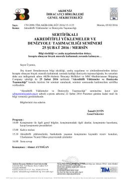 sertifikalı akreditifli yüklemeler ve denizyolu taşımacılığı semineri 25