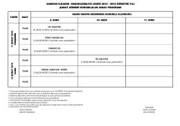 program için tıklayınız. - SAMSUN / İLKADIM / 19 Mayıs Lisesi