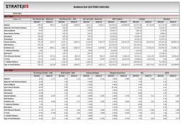 bankacılık sektörü raporu