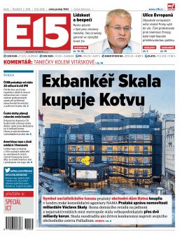 exbankéř Skala kupuje kotvu