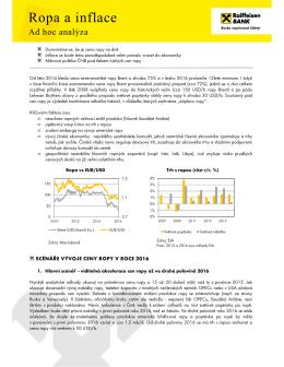 Ad hoc analýza - Raiffeisenbank