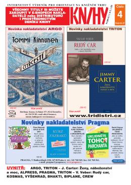 Novinky nakladatelství Pragma