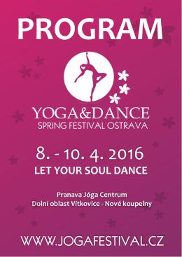 Program 2016 ke stažení - YOGA & DANCE Spring Festival Ostrava