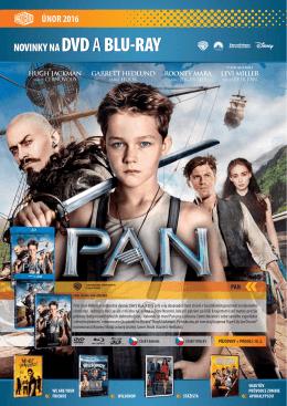 novinky na dvd a blu-ray únor 2016