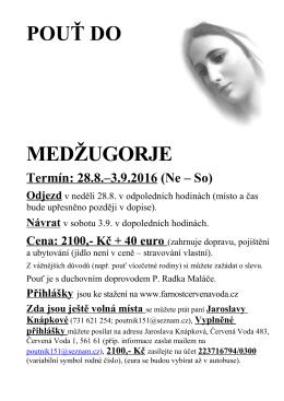 Plakát Medžu net 16 - farnostcervenavoda.cz