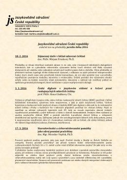 Jazykovědné sdružení České republiky