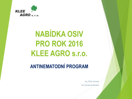 antinematodní program