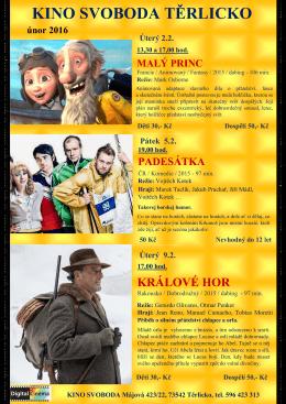Kino únor 2016