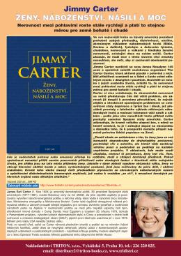 Jimmy Carter ŽENY, NÁBOŽENSTVÍ, NÁSILÍ A MOC