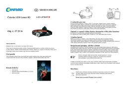 Čelovka LED Lenser H3 Obj. č.: 57 25 34