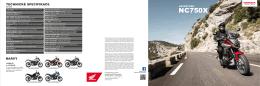 NC750X - Elektronický katalog