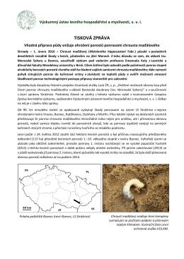 Vhodná příprava půdy snižuje ohrožení porostů ponravami chrousta