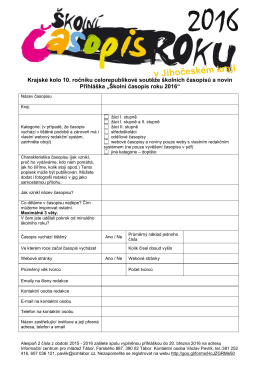 přihláška v pdf