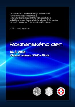 Rokitanského den 2016