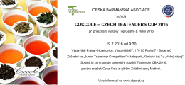 coccole – czech teatenders cup 2016