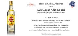 HAVANA CLUB FLAIR CUP 2016 - Česká barmanská asociace