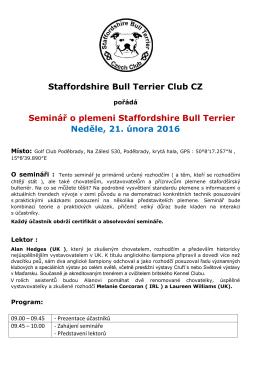 propozice - Staffordshire Bull Terrier Club CZ