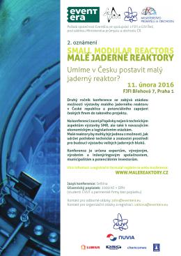 MALÉ JADERNÉ REAKTORY - Katedra jaderných reaktorů