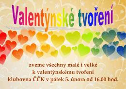valentýnské tvoření