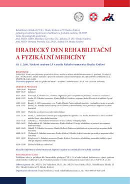 HD RFM 2016 - pozvánka - Fakultní nemocnice Hradec Králové