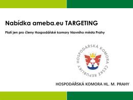 Nabídka ameba.eu TARGETING