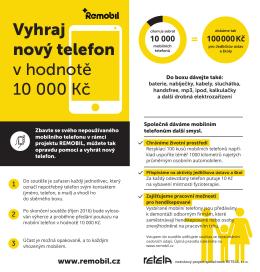 Vyhraj nový telefon v hodnotě 10 000 Kč