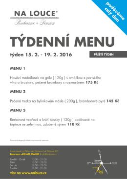 Příští týden - nalouce.cz