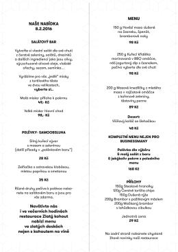 Denní menu