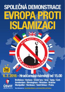 Letak_A6 - Blok proti islámu