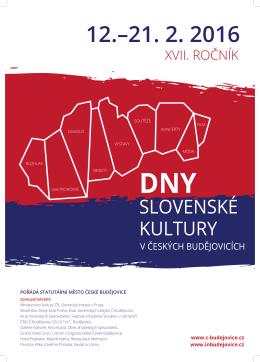 plakat DNY tiskove - České Budějovice