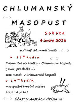 masopust 6.2.2016
