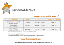 ZDE - Help to be fit