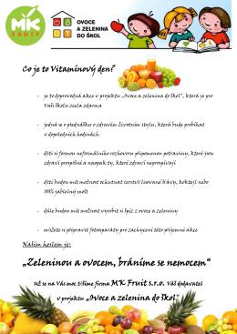 Vitamínový den