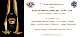baileys professional mistr kávy 2016