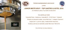 top gastro & hotel 2016 - Česká barmanská asociace
