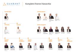 Kompletní firemní hierarchie