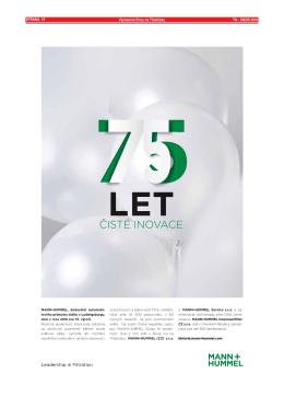 STRANA 15 Významné firmy na Třebíčsku TN