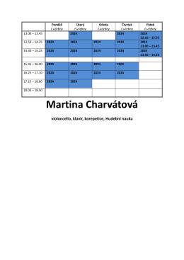 Martina Charvátová