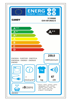 Energetický štítek PDF