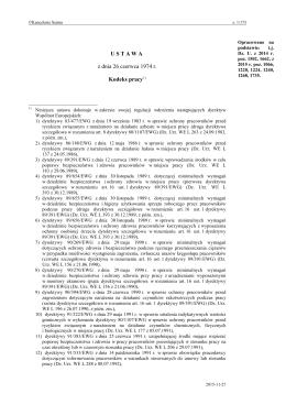 Ustawa z dnia 26 czerwca 1974r.