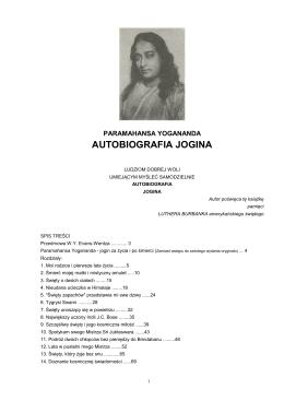 Paramahansa Yogananda - Autobiografia Jogina
