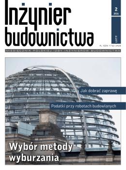 Luty 2016 (plik pdf 10.03MB) - Polska Izba Inżynierów Budownictwa