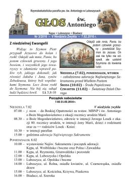 tutaj - Parafia Luboszyce
