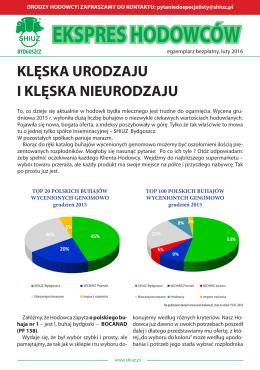 EKSPRES HODOWCÓW - SHiUZ w Bydgoszczy