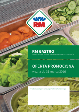 RM promocja - Gastro-Nord