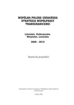 wspólna polsko-ukraińska strategia współpracy