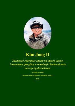 Kim Jong Il - Stowarzyszenie Przyjaźni Koreańskiej