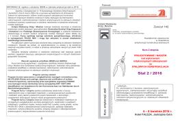 INFORMACJE ogólne o szkoleniu IBDiM w zakresie