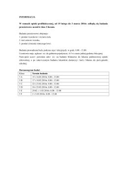 badania-harmonogram