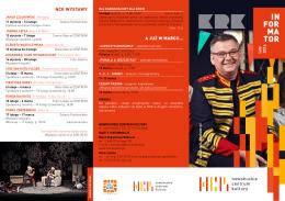 Informator – luty 2016 - Nowohuckie Centrum Kultury